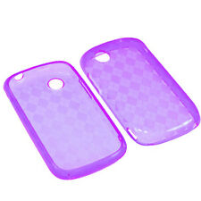 ZTE Avail Z990 Merit 990g High Gloss TPU CANDY Flexi Gel Skin Case Cover Purple