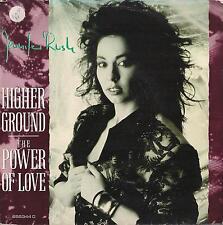DISCO 45 Giri  Jennifer Rush - Higher Ground / THE POWER OF LOVE
