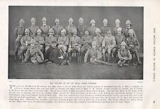 1900 BOER WAR OFFICERS OF THE 1st ROYAL DUBLIN FUSILIERS