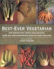 BEST-EVER VEGETARIAN by Linda Fraser (1998, New Hardcover) SHRINK WRAPPED
