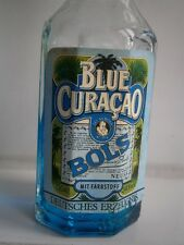 BOLS Blue Curacao 30 anni years old miniatura MINI VINTAGE