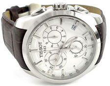 Tissot T0356171603100 Courtier Quartz Chronograph Silver Dial Men's Watch