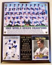 Miracle Mets 1969 World Series Champions Photo Card Plaque Tom Seaver