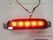 05 06 07 08 Mazda3 4D Sedan SMOKE 3rd LED brake light E9 DOT APPROVAL THIRD STOP