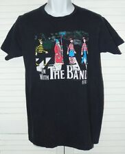 Where's Waldo I'm With The Band Beatles Abbey Road Mens Black T Shirt Small