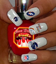 NFL- Denver Broncos Nail Art Waterslide Nail Decals. Set of DB001-55