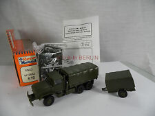 ro340, Roco Minitanks 516 M923 5t. truck & M105A2 trailer 1:87 BOX mint