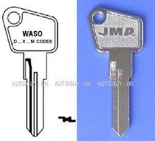 TAPPO BENZINA GAS Waso chiave tagliato a codice con prefisso D-M-X AUTO D'EPOCA TAPPO DI BLOCCAGGIO