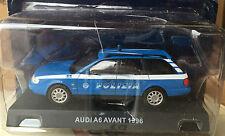 """DIE CAST """" AUDI A6 AVANT - 1996 """" POLIZIA SCALA 1/43"""