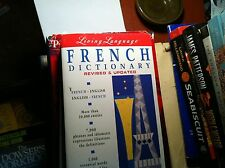 82716  BOOK FRENCH ENGLISH DICTIONARY LIVING LANGUAGE