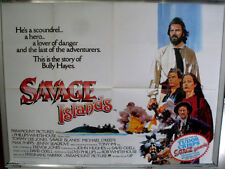 Cinema Poster: SAVAGE ISLAND 1983 (Quad) Tommy Lee Jones Jenny Seagrove