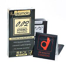 Okamoto Hydro 0.02 Polyurethane Non-Latex Condom (6pcs) Compare to Sagami 002