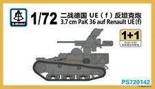 S-model 1/72 PS720142 3.7cm Pak 36 Aud Renault UE(f) (1+1)