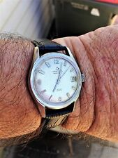 Men's VERY RARE VINTAGE SWISS CERTINA DS  AUTOMATIC 27 JEWELS  DATE Wrist Watch