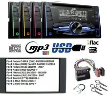 JVC KW-R520 Autoradio 2DIN CD MP3 AUX USB per Ford Focus C-MAX Kuga Fiesta