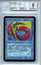 MTG Alpha Lord of Atlantis Magic WOTC BGS 9.0 (9)  Mint Card 1051