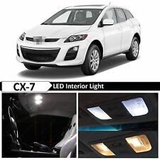 10x White Interior LED Lights Package Kit for 2007-2012 Mazda CX-7 CX7