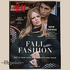 H&M FALL CATALOG 2015 EDITA VILKEVICIUTE ANNA EWERS DOUTZEN KROES KATI NESCHER