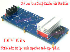 50A Amplifier Positive Negative Dual Power Supply Rectifier Filter Board Kits