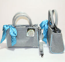Loungefly Disney Alice Through The Looking Glass Grey Embossed Barrel Bag Purse