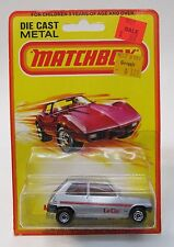 1980 Matchbox #21 RENAULT LE CAR Superfast factory sealed blister card