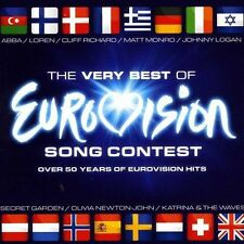 VAR. ARTISTS Very Best of Eurovision Song Contest 2 CD IMPORT BRAND NEW & SEALED