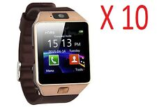 10xDZ09 Bluetooth Smart Watch Phone Camera SIM Card Android IOS Phones Wholesale