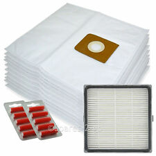 10 Bags + H13 HEPA Filter for Nilfisk King GM500 GM510 GM520 GM530 Vacuum Fresh