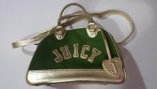 Juicy Couture  Dog/Pet Carrier - Green&Gold Hand Bag Used
