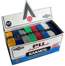 Karakal PU Super Grips - Assorted Colors (Box of 24 Grips)