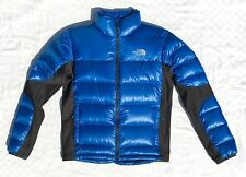 The North Face Crimptastic Gr. M Summit Series Daunenjacke blau Glanz TOP!