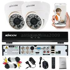 KKMOON 4CH 960H DVR HDMI 2PCS 800TVL IR CCTV Security Cameras System Network US
