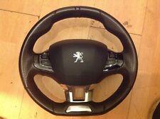 Peugeot 208 308 GT Line fondo plano Volante De Cuero Multifunción 2013 en