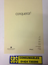 50 A4 Sheets Of Conqueror Vellum Laid (Textured) 100gsm Paper. Watermarked