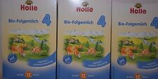 Holle Organic Baby Infant Formula Stage 4-  (3- Boxes) FREE Priority Shipping