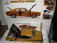 CLASSIC CHRYSLER CHARGER R/T E38 HOT MUSTARD 1971 HEMI 1/18 ONLY 1000 MADE 18524
