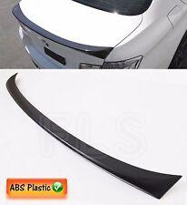 BMW 3 SERIES E90 05-11 REAR TRUNK BOOT LIP LID SPOILER M SPORTS - MATTE BLACK