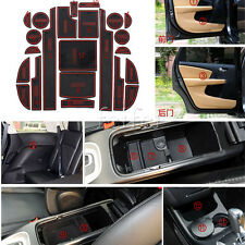 Set Interior Non-slip Car  Door Gate Cup Pad Mat For Dodge Journey 2013 2014