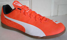 PUMA EVOSPEED 5 ORANGE  INDOOR  SOCCER MEN SHOES 8.5