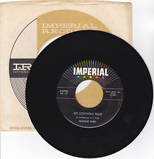 JIMMY FORD-IMPERIAL 5706 ROCK 45RPM MY SOUTHERN BELLE B/W THE GROOM  VG++