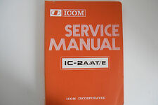Icom - 2A/AT/E (Solo Manual De Servicio Original)... radio _ trader _ Irlanda.
