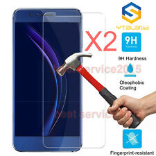 2Pcs 9H+ Premium Tempered Glass Film Cover Screen Protector For Huawei Honor 8