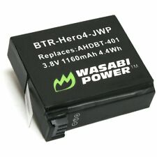 Wasabi Power Battery for GoPro HERO4 - 1160mAh (Replaces AHDBT-401 Battery)