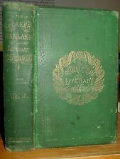 1880 The Speaker's Garland And Literary Bouquet Vol. III Eloquence, Pathos, Wit
