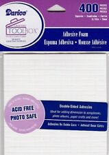 3D FOAM DOTS Double Sided SQUARE Adhesive - 400pc! Acid Free Photo Safe