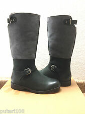 UGG DALEANE BLACK SHEARLING SHEEPSKIN LEATHER Boot US 7.5 / EU 38.5 / UK 6
