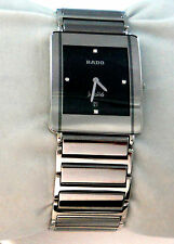 Rado Mens Womens Watch Jubilie Swiss Movement 160.0282.3 Silver Tone Titanium