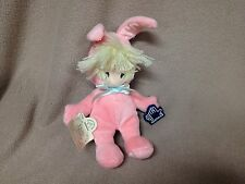 Precious Moments Bunny Doll in Costume 1991 Applause Cloth Face