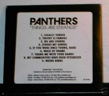 Panthers Things Are Strange ADVANCE PROMO cd