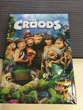 The Croods (DVD, 2013) Animated Children's Movie Kids Film Adventure DreamWorks